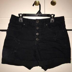 Pants - Black shorts, size 7, Flx Stretch